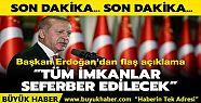 Başkan Erdoğan'dan Düzce'deki sel felaketiyle...