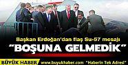 Başkan Erdoğan'dan flaş Su-57 mesajı:...