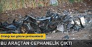 Batman'da bomba yüklü patlatılan araçtan...