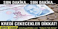 BDDK'dan kredi kararı
