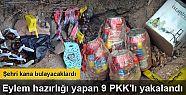 Bingöl'de eylem hazırlığı yapan 9 PKK'lı...