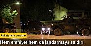 Çatak'ta jandarma ve emniyete saldırı:...