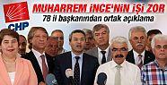 CHP 78 il başkanı Kılıçdaroğlu'nu...