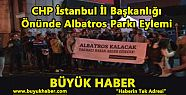 CHP İstanbul İl Başkanlığı Önünde...