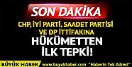 CHP, İYİ Parti, SP ve DP ittifakına peş...