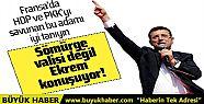 CHP'li İmamoğlu HDP'ye diyetini Fransa'da...
