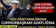 CHP'nin Cumhurbaşkanı adayı Muharrem...
