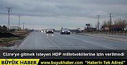 Cizre'ye gitmek isteyen HDP milletvekillerine...
