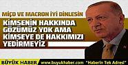 Cumhurbaşkan Erdoğan'dan Akdeniz ve Lübnan...
