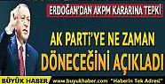 Cumhurbaşkanı Erdoğan AK Parti'ye ne...