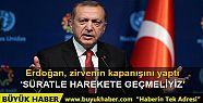 Cumhurbaşkanı Erdoğan: Bu, adil dünya...