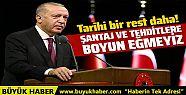 Cumhurbaşkanı Erdoğan: Doğu Akdeniz'de...
