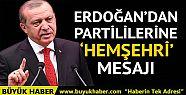 Cumhurbaşkanı Erdoğan'dan partililerine...