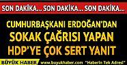 Cumhurbaşkanı Erdoğan'dan son dakika...