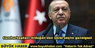 Cumhurbaşkanı Erdoğan'dan yerel seçim...