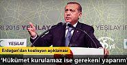 Cumhurbaşkanı Recep Tayyip Erdoğan'dan...