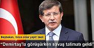 Davutoğlu: Operasyon yokken, KCK ateşkesi...