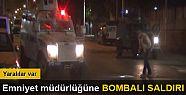 Diyarbakır Emniyet Müdürlüğü'ne bombalı...