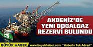 Doğu Akdeniz'de yeni bir doğal gaz rezervi...