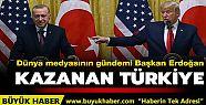 Dünya medyasının gündemi Başkan Erdoğan:...