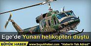 Ege'de Yunan helikopteri düştü: 3 Ölü