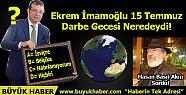 Ekrem İmamoğlu 15 Temmuz Darbe Gecesi...