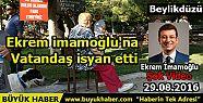 Ekrem imamoğlu'na vatandaş isyan etti