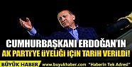 Erdoğan AK Parti'ye ne zaman üye olacak?...