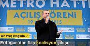 Erdoğan: 'Koalisyon demek, eski Türkiye...