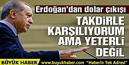 Erdoğan: Milletim daha da yüklenmeli