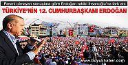 Erdoğan Türkiye'nin yeni Cumhurbaşkanı