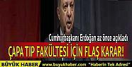 Erdoğan'dan son dakika açıklaması: Çapa...