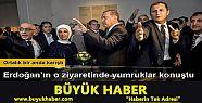 Erdoğan'ın korumaları ile Belçikalı...