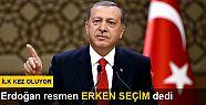 Erken seçim kararı Resmi Gazete'de yayınlandı