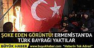 Ermenistan'da şoke eden görüntü! Türk...