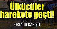 Erzurum'da HDP'li ülkücü gerginliği