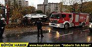Esenyurt'ta servis minibüsü kaza yaptı:...