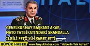 Genelkurmay Başkanı Akar, NATO Tatbikatındaki...