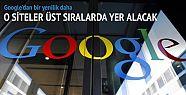 Google'ın arama sistemi değişiyor
