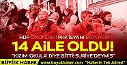HDP önünde eylem yapan aile sayısı 14'e...