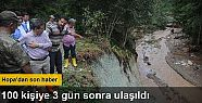 Hopa'da mahsur kalanlara 100 köylüye 3...