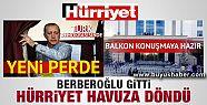 Hürriyet'ten ilginç Erdoğan manşeti