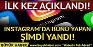 Instagram'da ekran görüntüsü alan yandı