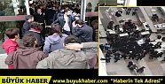 İstanbul Adalet Sarayı'nda avukatlara...