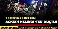 İstanbul'da askeri helikopter düştü:...