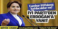 İYİ Parti'den Cumhurbaşkanı Erdoğan'a...