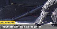 İzmir Adliyesi'nde silah ve pompalı tüfek...
