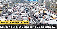 Kadir Topbaş, İstanbul'da pazartesi alarmı...