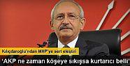 Kemal Kılıçdaroğlu: 'MHP koltuk değneği'