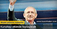 Kılıçdaroğlu kurultayı ekimde toplayacak